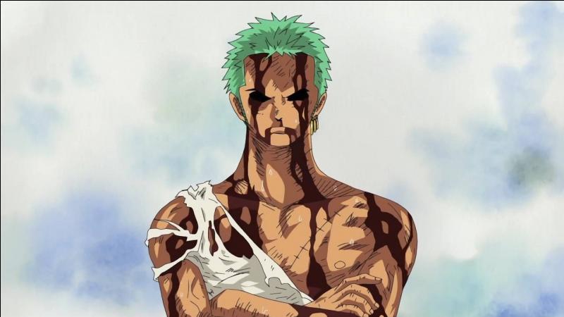 Qu'a extrait Kuma, de Luffy, pour le donner à Zoro ?