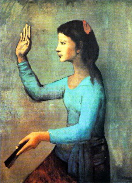 Qui a peint La femme à l'éventail ?