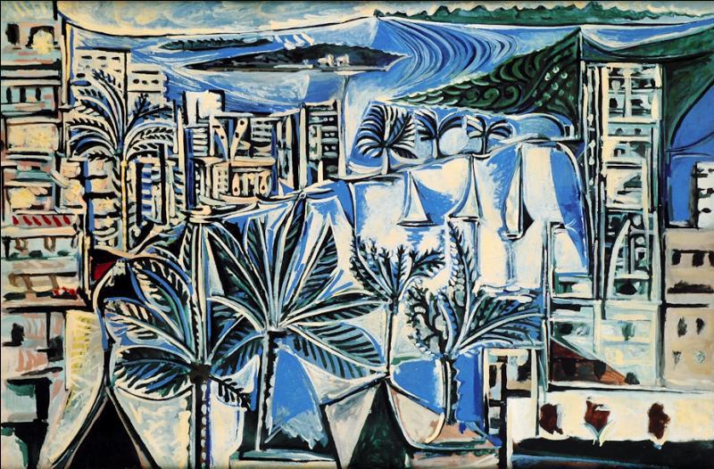 Lequel des deux a peint Baie de Cannes ?
