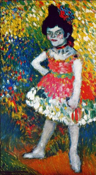 Lequel des deux a peint La danseuse naine ?