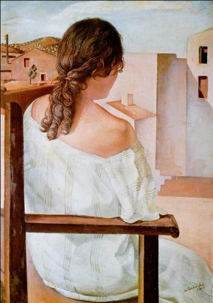 Qui a peint Jeune fille assise vue de dos ?