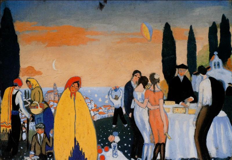 Qui a peint La fête à l'Ermitage ?