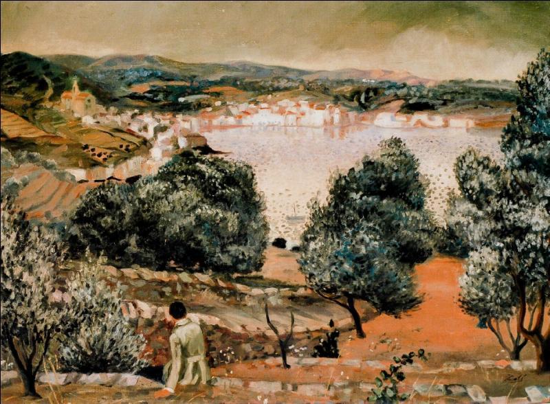 Qui a peint Paysage de Cadaques ?