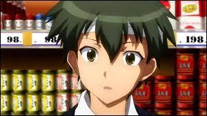 'Ben-To' : Satô Yô se fait toujours cogner par Shiraume Ume.