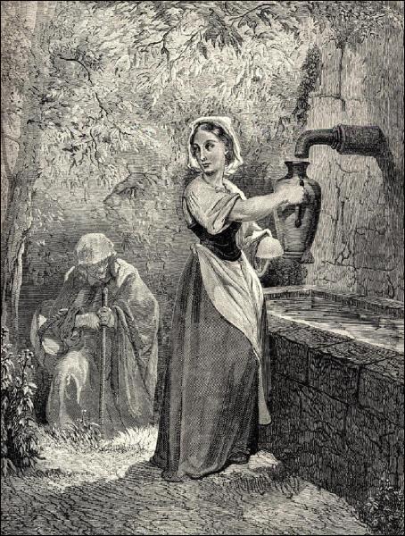 Quel conte est illustré par cette illustration ?