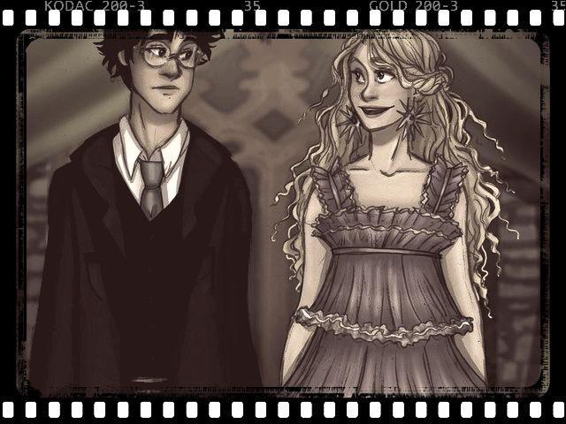 Quel est cet événement auquel Luna a participé en tant que cavalière de Harry Potter ?