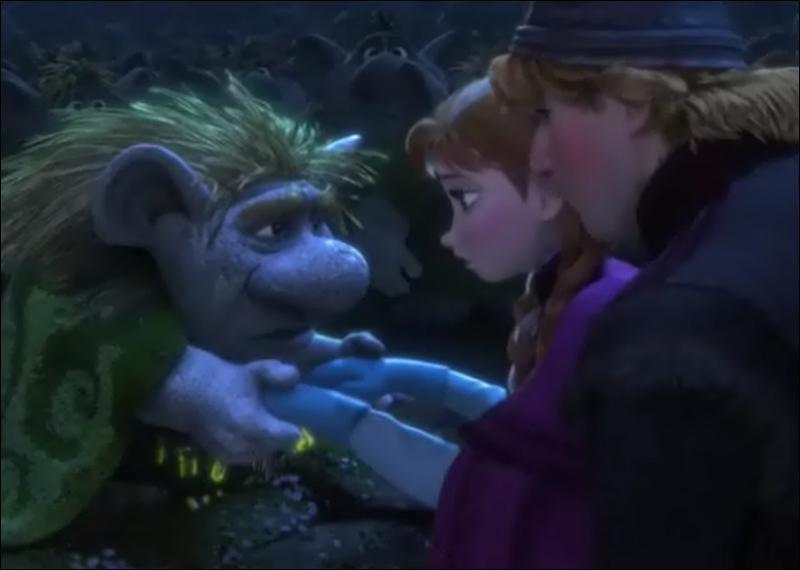 Que dit le troll Grand-Papy à Anna à propos de son coeur ?