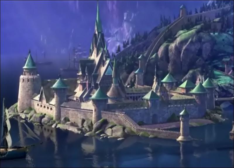 Quizz la reine des neiges quiz disney films for Chateau la reine des neiges