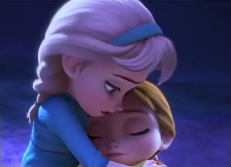 Quel accident condamne Elsa à rester à l'écart de tous ?