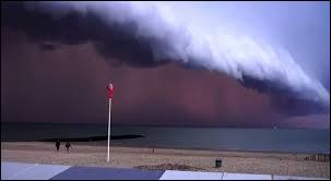 Ce type de nuage bas apparaît au cours d'un orage et est situé à l'avant immédiat de la ligne de précipitation. Il porte le nom de (d') ...