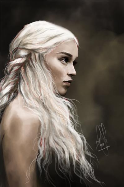La saga débutant en l'an 298, en quelle année est née Daenerys Targaryen (d'après le roman) ?