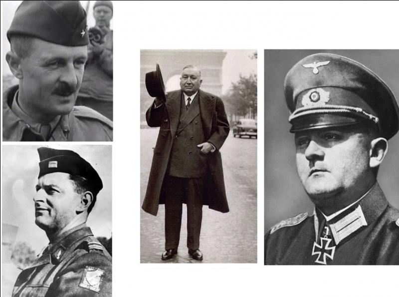 Le 25 août, les allemands se rendent et la capitale est enfin libérée. Qui sont les principaux acteurs de la capitulation en sachant qu'il y a deux français, un suédois et un allemand ?