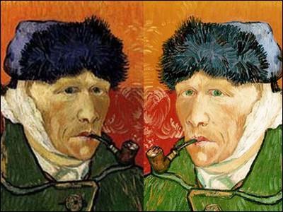 Le 23 décembre 1888, après une dispute avec Gauguin dans son atelier, Van Gogh se mutile l'oreille droite avec un rasoir.