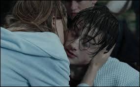 Bon sang, se dit à cet instant Harry, m'être donné tout ce mal pour un baiser... sur la joue ! De qui donc espérait-il sans doute plus, ce chaud-lapin de Harry, pour avoir pris le temps de sauver et Ron et la petite Gaby ?