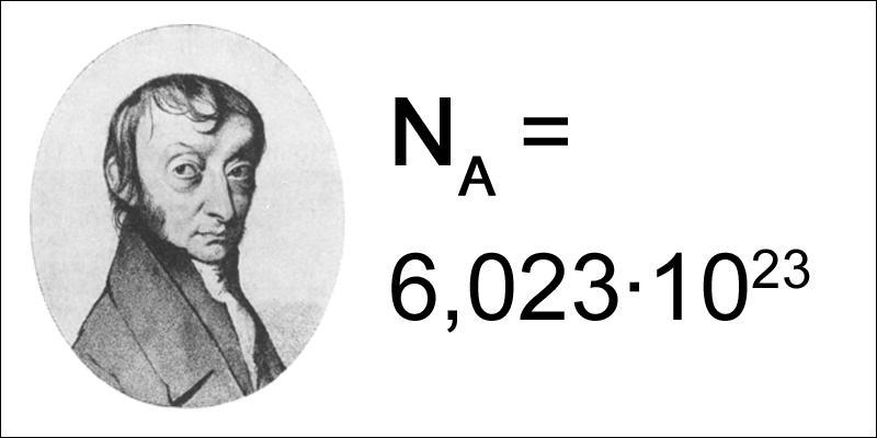Quel scientifique donne son nom à la constante de comptage de molécules ?