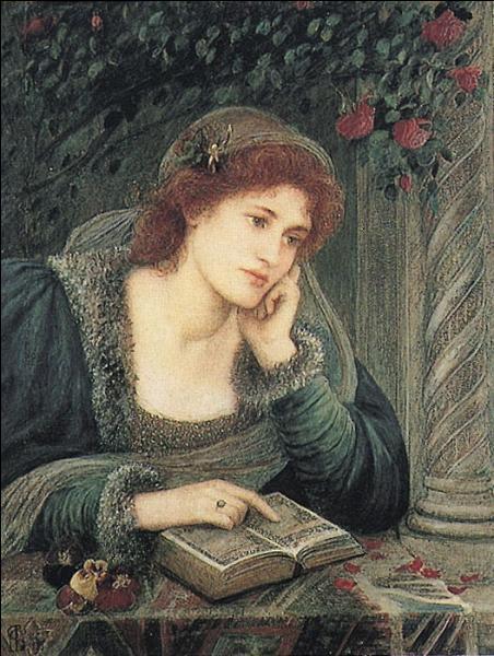 Quelle jeune fille a inspiré des sonnets à Dante ?