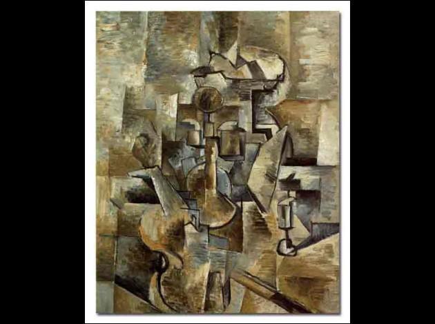 Qui a peint Nature morte cubiste ?