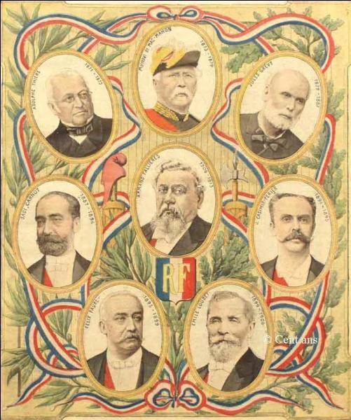 Qui fut le premier président de la IIIe République ?