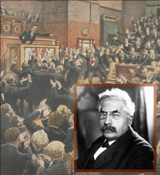 Quelle est la raison de la démission d'Alexandre Millerand en juin 1924 ?