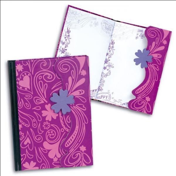De quel couleur est le journal intime de Violetta ?