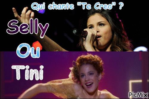 Qui chante  Te Creo  ?