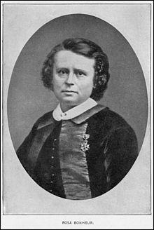 Dans quel domaine se fit connaître Rosa Bonheur, qui vécut au XIXe siècle ?