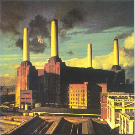 Quelle est la signification des trois morceaux d''Animals' sorti en 1977 (Dogs, Pigs (three different ones), Sheep) ?