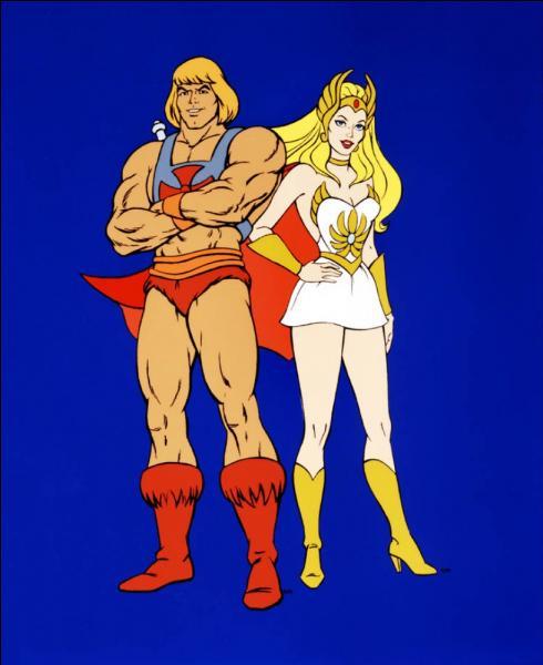 Comment se prénomme le personnage masculin tiré du dessin animé  Les Maîtres de l'univers  ?
