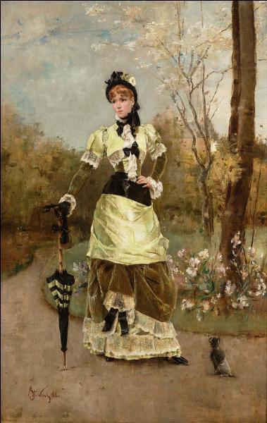 Qui a peint La parisienne ?
