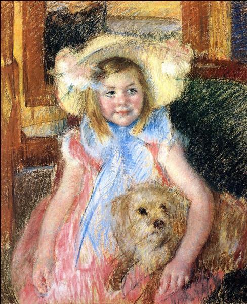 Qui a peint Sara et son chien ?