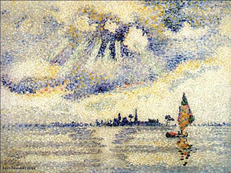 Qui a peint Coucher de soleil sur la lagune, Venise ?