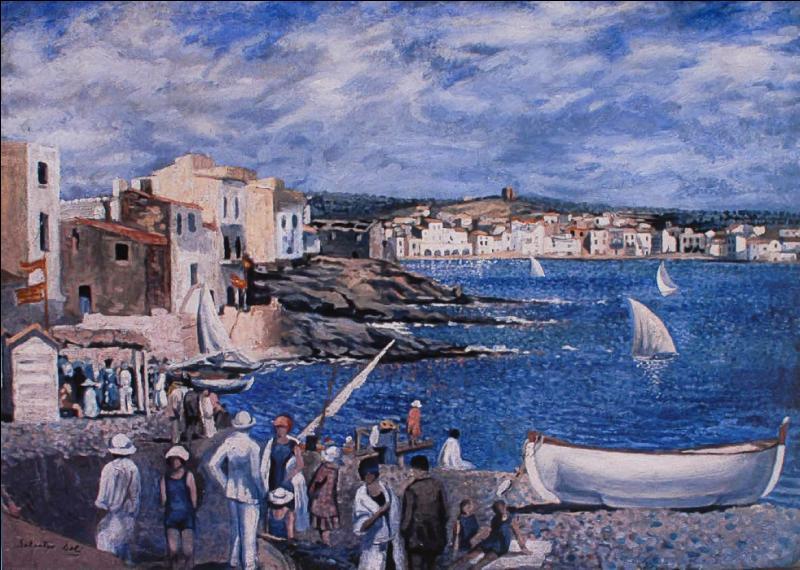 Qui a peint La plage de Llaner ?