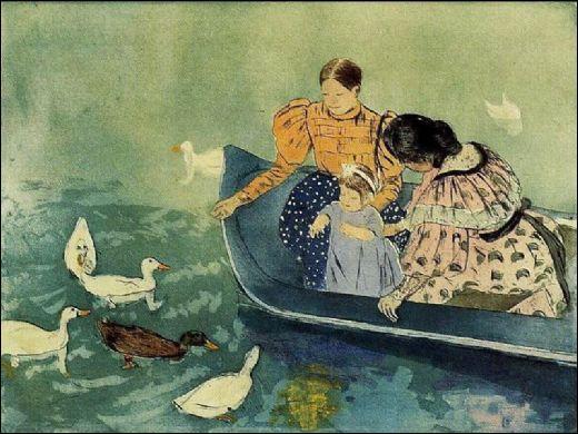 Qui a peint Les canards ?