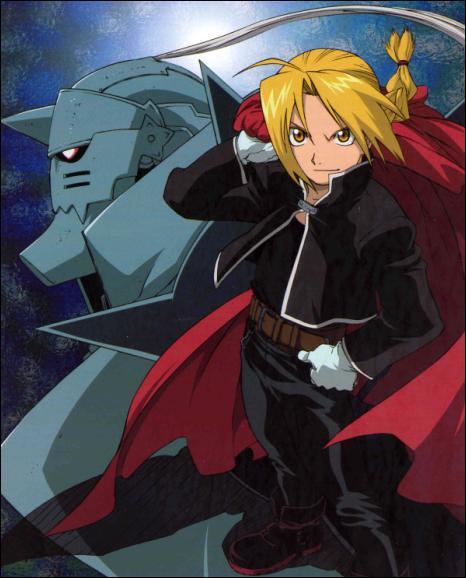 Ils pratiquent l'alchimie et ils sont frères. L'un d'eux s'appelle le fullmetal alchemist. Qui sont-ils ?