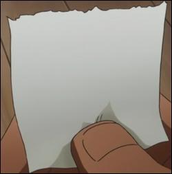 A quoi sert ce bout de papier pour Luffy ?