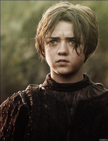 Au regret d'Arya Stark, qui lui annonce son intention de rester au sein de la Fraternité sans Bannière ?