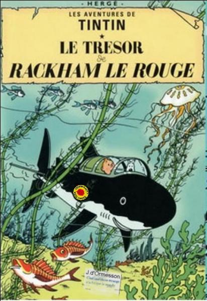 1944 : Étant donné qu'il ne se passe rien de notable en surface, Tintin va naviguer entre deux eaux ... (Ne cherchez pas les fautes dans le titre ! )