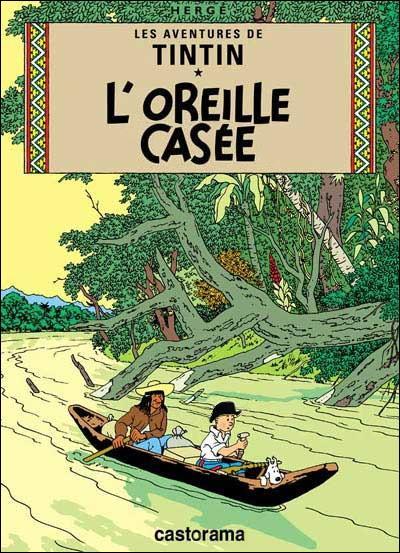 En 1937, Tintin répond enfin à l'appel de Claude Levi-Strauss : il part faire de l'ethnologie en Amérique du Sud. Il en revient avec  L'Oreille cassée .