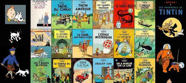 Tintin tire les couvertures de l'Histoire ! (1)