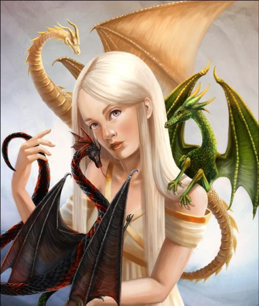 Comment s'appelle ces trois dragons ?