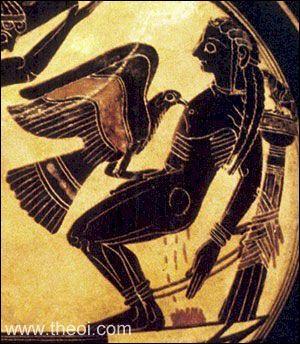 Qui est 'le chien ailé de Zeus', le rapace qui, chaque jour, rongeait le foie de Prométhée ?