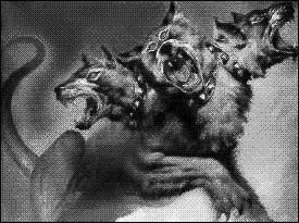 Ce chien à plusieurs têtes gardant l'entrée des Enfers est :