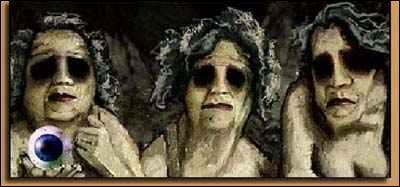 Aussi appelées 'Graies' ou 'Grises', qui sont les sœurs aînées de Méduse et des Gorgones, ainsi que leurs gardiennes.