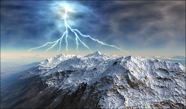 Dès les premiers signes ... d'un orage si l'on se trouve sur un sommet il faut descendre le plus bas et le plus rapidement possible, avant qu'il n'éclate.