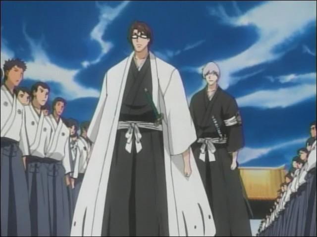 Après que Kaname Tosen a détruit le bras de Grimmjow, que dit Gin à Aizen ?
