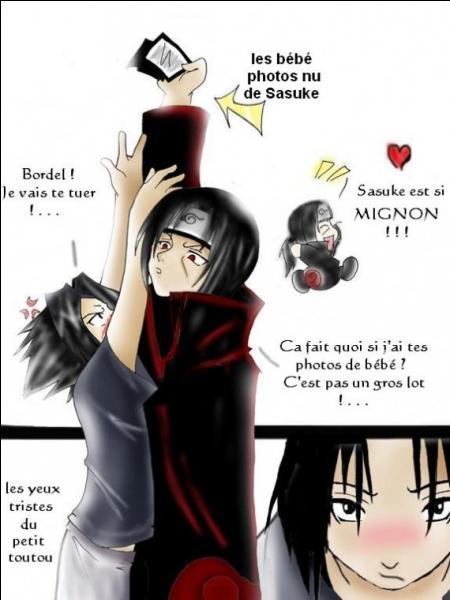 Pourquoi Sasuke est-il énervé ?