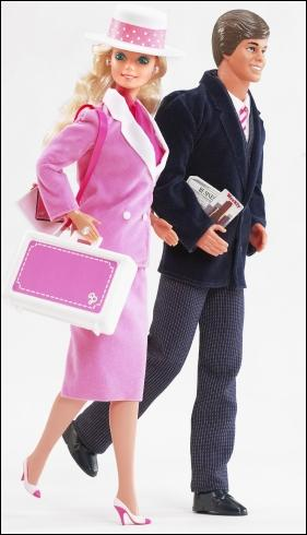 Comment le compagnon du mannequin Barbie s'appelle-t-il ?