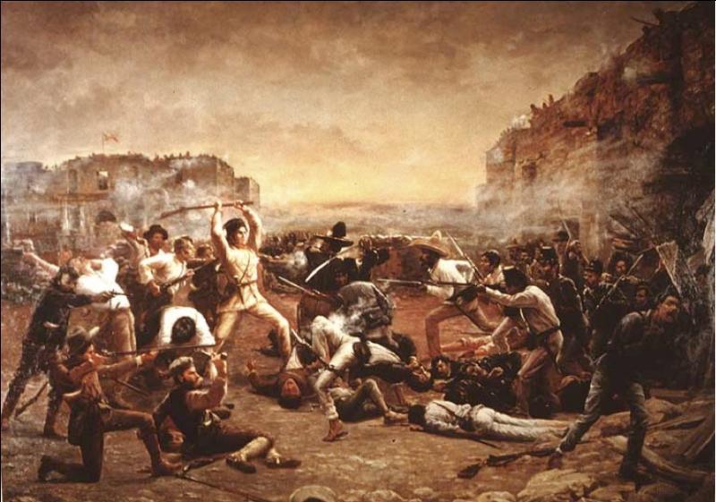 Comment s'appelle la bataille pendant laquelle les Indépendantistes texans furent vaincus par les forces mexicaines ?