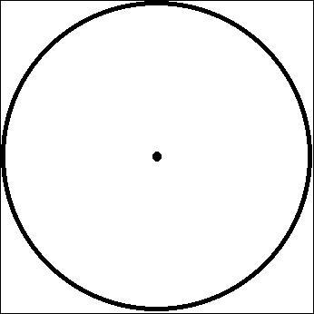 Le rayon du cercle est égal à 2 fois le diamètre. Vrai ou faux ?