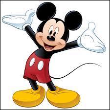 Vous connaissez cette souris ! Mais en anglais :
